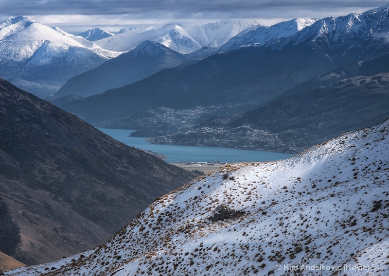 Snow Cap Mountains