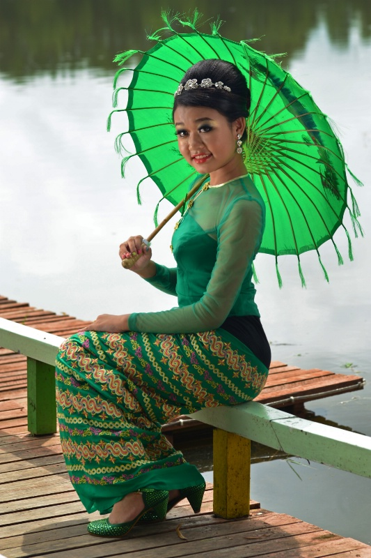 Irrawaddy Beauty Girl