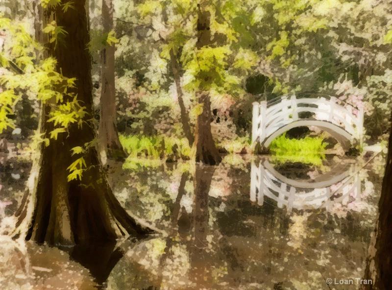 Little White Bridge - ID: 14649410 © Loan Tran
