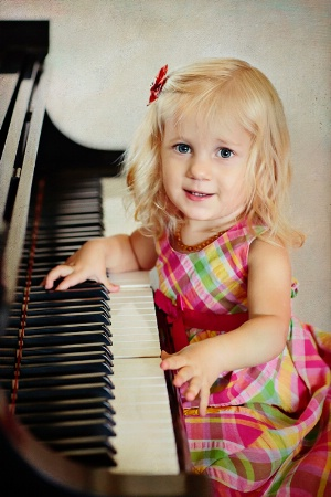 The Little Pianist