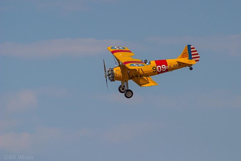 Antique Biplane Original Image