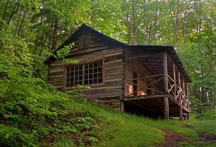 Avent Cabin 2, Near Elkmont GSMNP