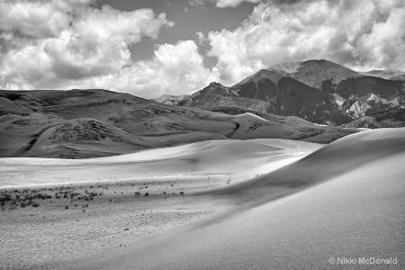 Great Sand Dunes #6, BW