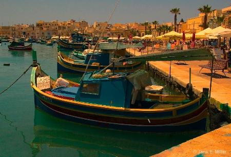 Setting Sun in Malta