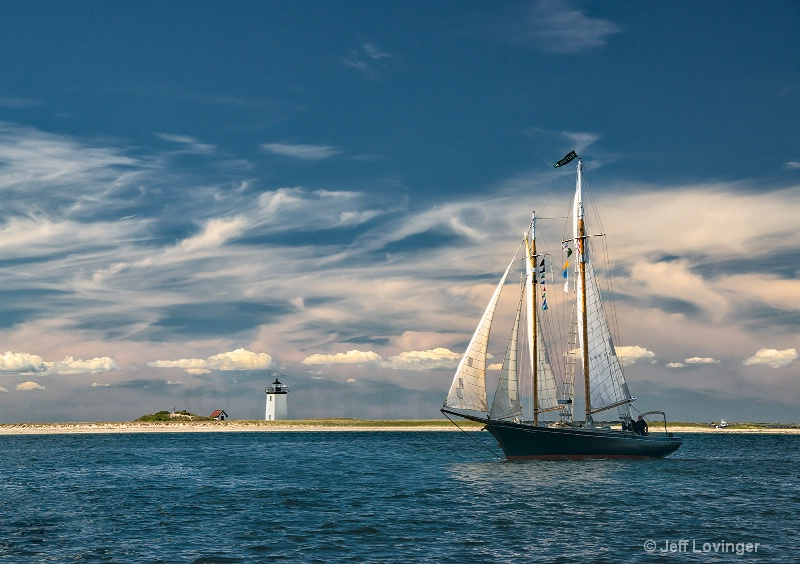 Sailboat at Long Point #211 - ID: 14683413 © Jeff Lovinger