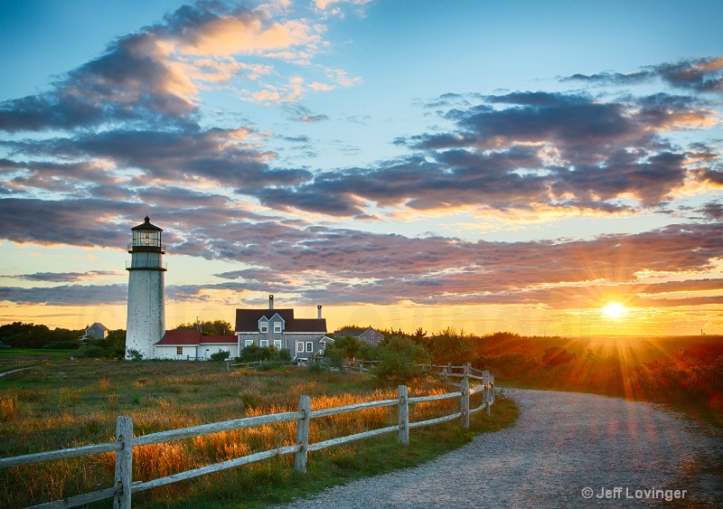 Highland Light Sunset #219 - ID: 14683450 © Jeff Lovinger