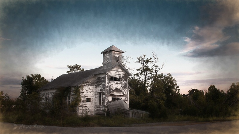 Aboned church Pecher Oklahoma  - ID: 14690506 © Chuck Bruton