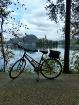 Biking Lake Bled,...