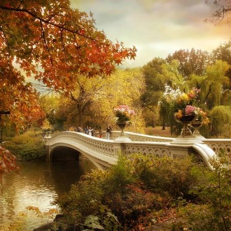 Bow Bridge Autumn
