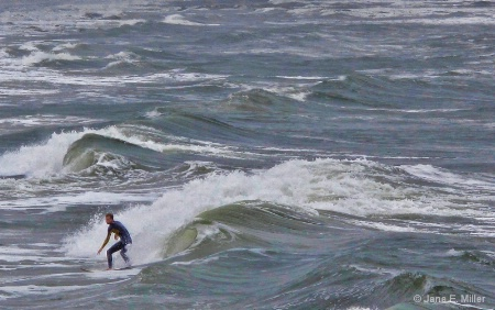 Crazy Surfer!