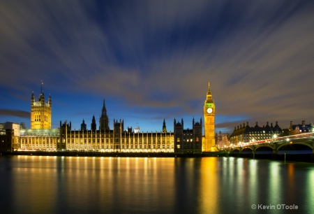 London Blue Hour