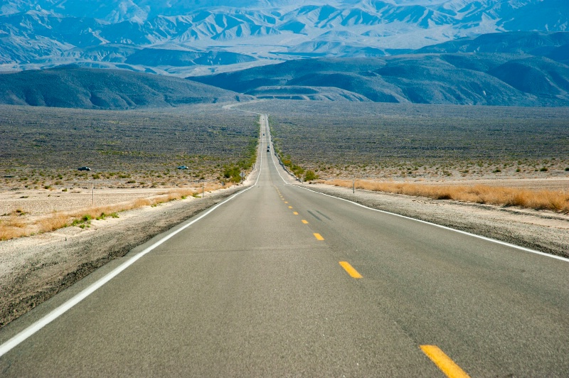 Infinity exit from Death Valley
