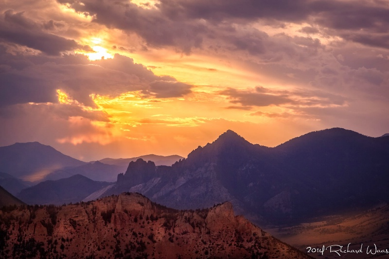 Sunset at Red Lodge - ID: 14753519 © Richard M. Waas