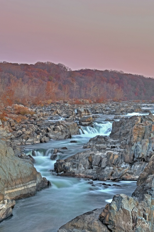 Great Falls at Dawn; McLean, Va. - ID: 14753545 © Richard S. Young