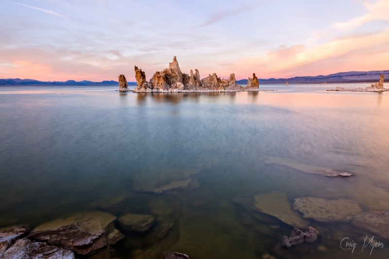 Mono Lake Tufa, Sunset - ID: 14757707 © Craig W. Myers