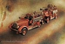 Antique Toy Fire Trucks