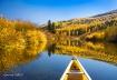 Fall Canoe Paddle