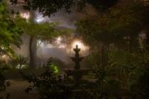 Courtyard fog