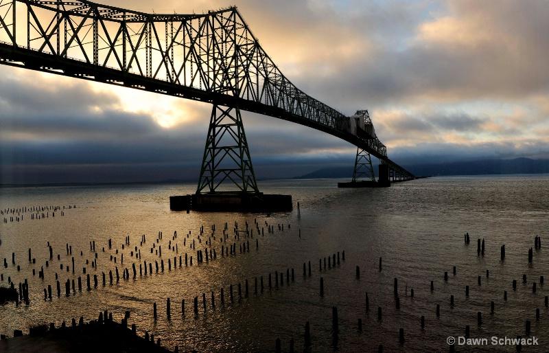 Sunset Bridge  - ID: 14797505 © Dawn Schwack