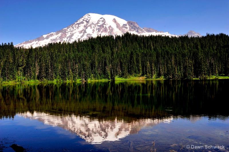 Mountain Mirror - ID: 14797509 © Dawn Schwack