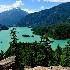 © Dawn Schwack PhotoID# 14797511: Glacier Blue View