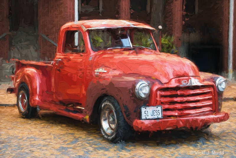 Jess's Red Truck