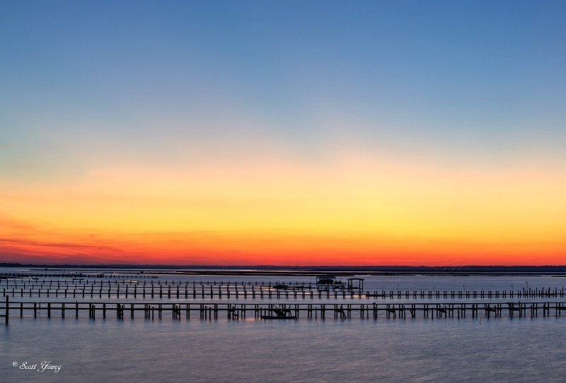 Chincoteague Sunset, New Year's Eve, 2014 - ID: 14801474 © Richard S. Young