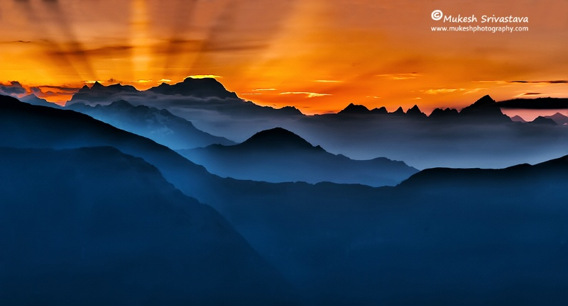 Dawn Time At Kedarnath