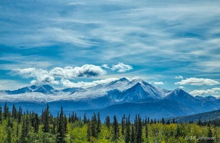 View From Carcross, Yukon