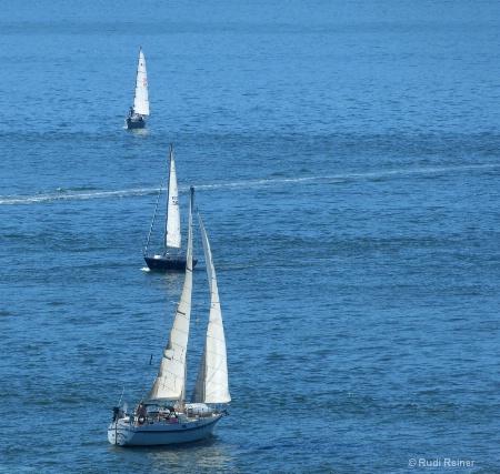 Sailboat traffic