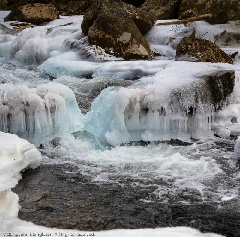 Blue Ice  - ID: 14811567 © John Singleton