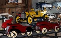 Antique Peddle Cars Poster