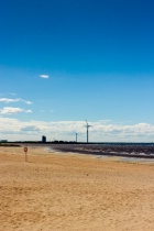 Beach And The Windmills