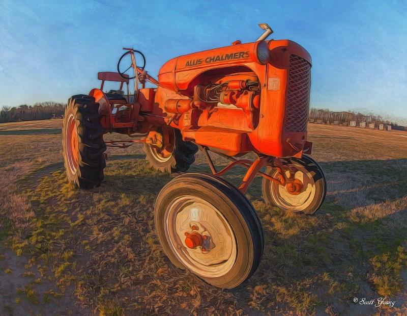 Tractor: Morris Farm Market; Barco, NC