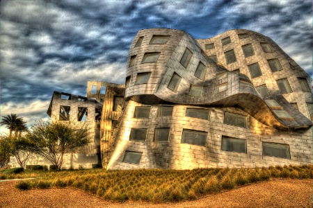 Frank Gehry's Brain Center