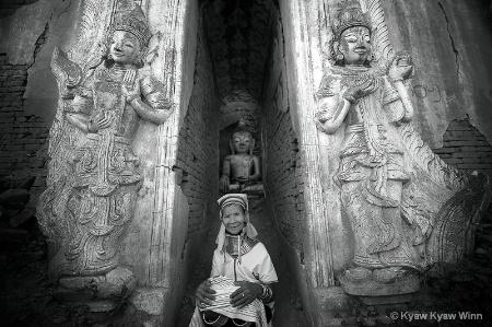 Padaung Woman From Myanmar