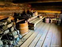 Inside Russian Banya