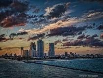 Port of Miami Cityscape