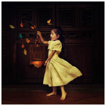 Chloe et les papillons