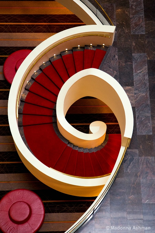 Stairs with a twist!!!!!
