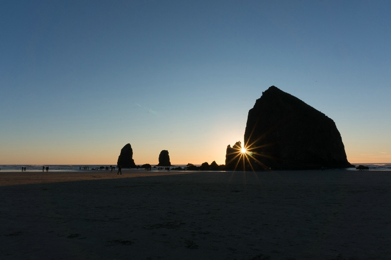 Sunset in Cannon Beach