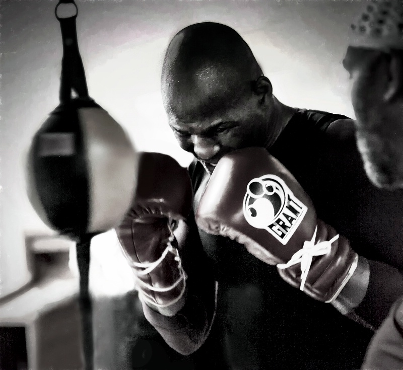 Bernard Hopkins  February 2013
