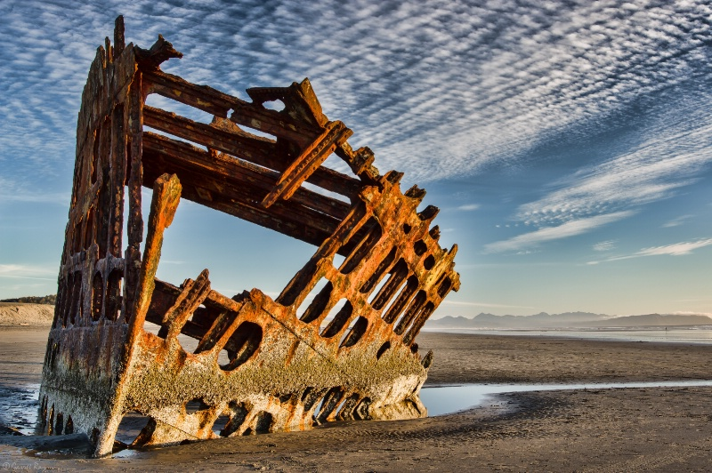 ~Wreck of the Peter Iredale~