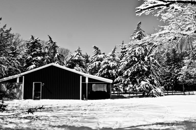Barn 2 B/W - ID: 14850229 © Frederick P. Brown
