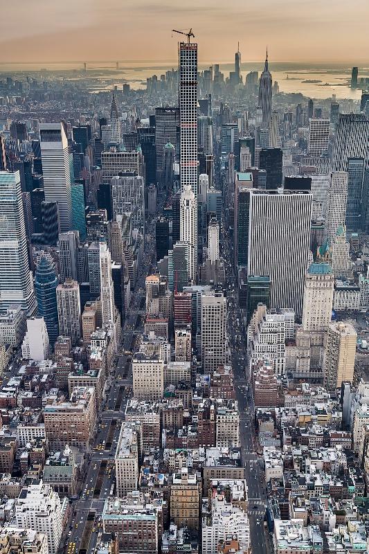 Manhattan Skyline 6189