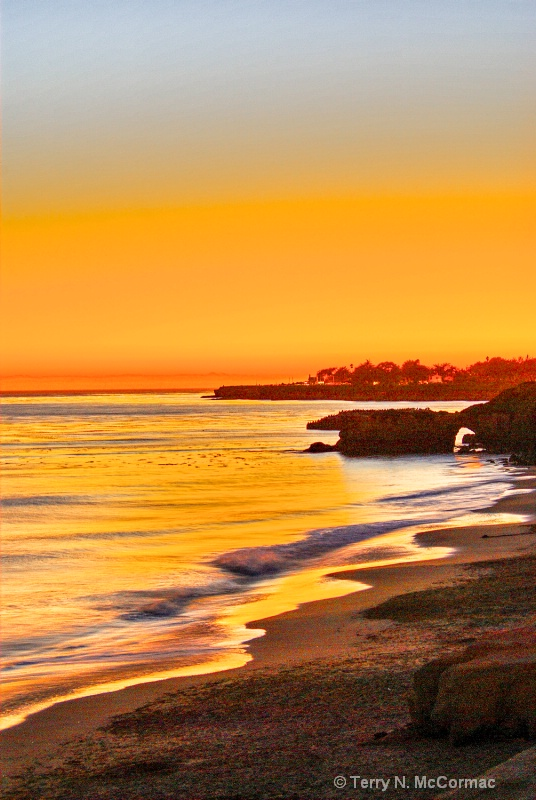 Santa Cruz Sunset - ID: 14861110 © TERRY N. MCCORMAC