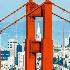 © TERRY N. MCCORMAC PhotoID # 14864137: Golden Gate Bridge & the Transamerica Building