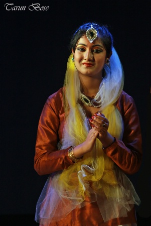 Kathak Dancer.