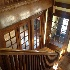© MARILYN K. MOORE PhotoID # 14868888: staircase looking down to front entry