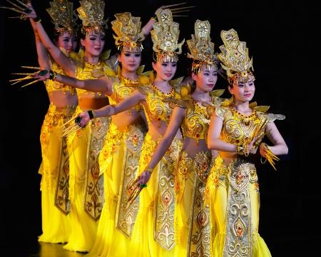 Dunhuang dancers
